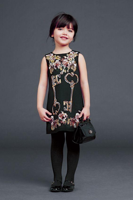 abb78795d 65+ Modelos de Vestidos Infantis PERFEITOS com Fotos!