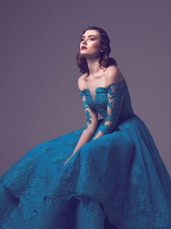 c9d1e0095 Vestidos de 15 Anos Azul: 60 Modelos e Fotos para se Inspirar