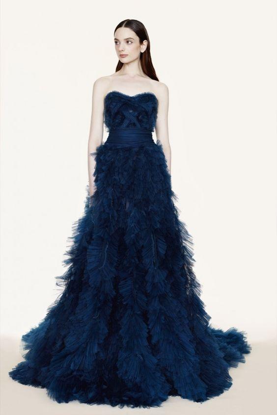 2fa95bd6c9 Vestidos de 15 Anos Azul  60 Modelos e Fotos para se Inspirar