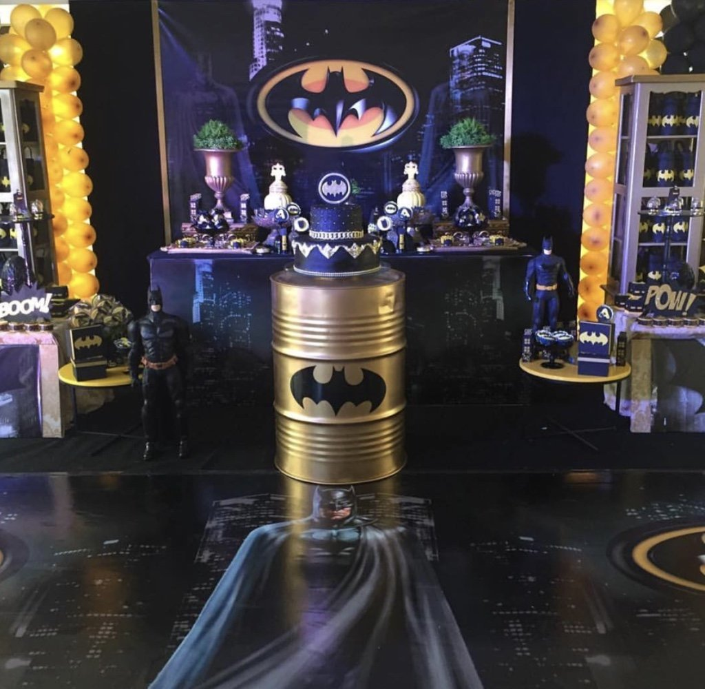 Festa do Batman: 60 Ideias de Decoração & Inspirações