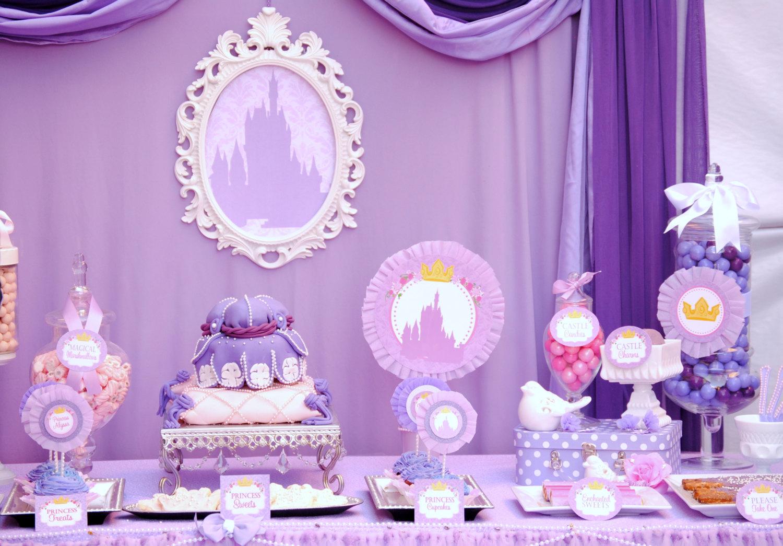 Festa da Princesa Sofia: 60+ Referências & Fotos