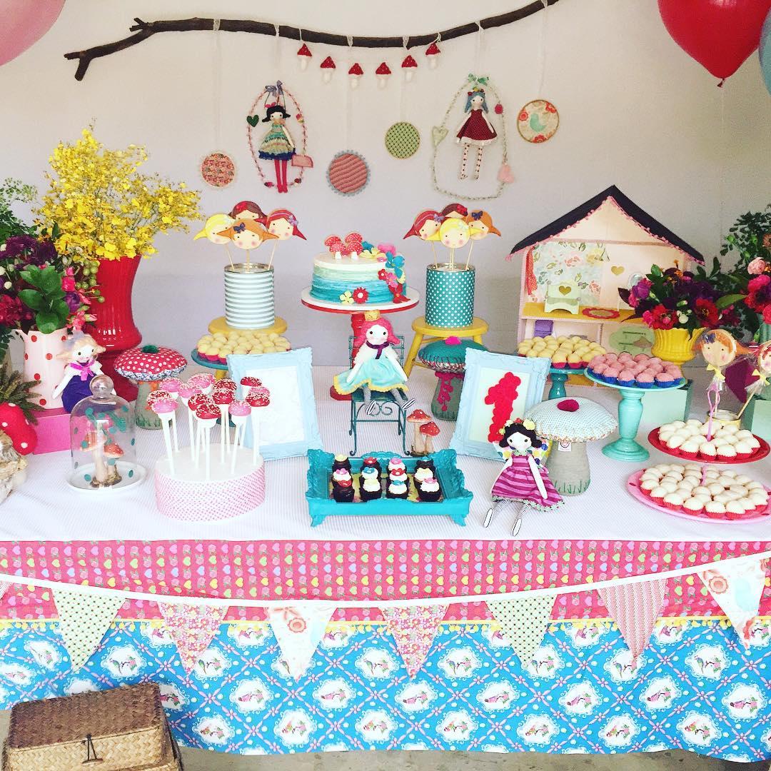 Festa de bonecas: 60+ melhores ideias, fotos e referências