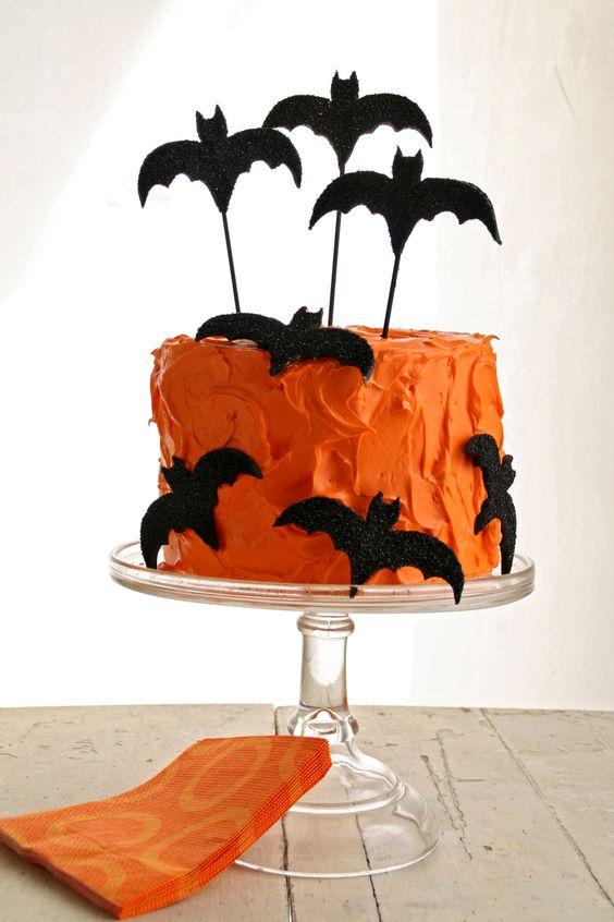 60+ Ideias de Decoraç u00e3o para Festa de Halloween -> Decoracao Para Mesa Halloween