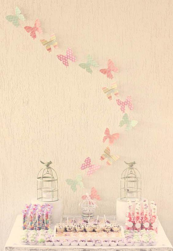 decoracao de mesa tema jardim encantado : decoracao de mesa tema jardim encantado:Imagem 36 – Festa Jardim Encantado com estilo rústico