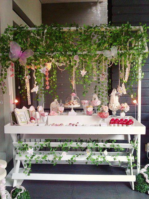 decoracao jardim encantado rustico:Enchanted Fairy Garden Party Ideas