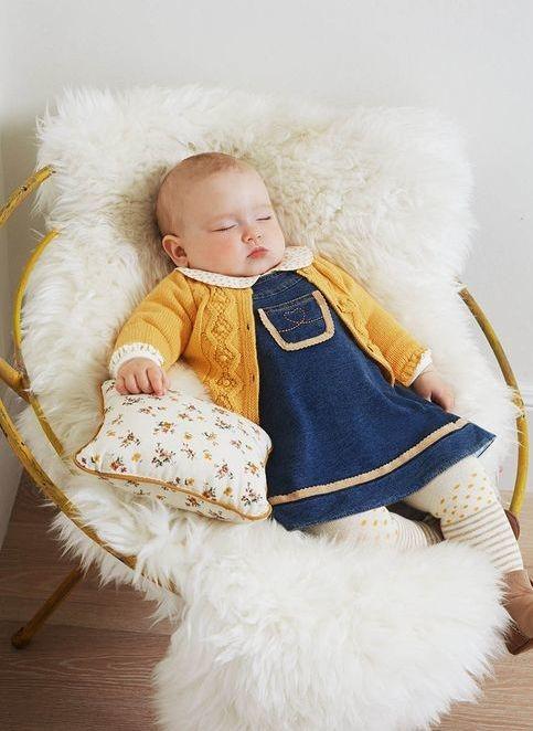 bb85f8c85 Casaquinhos de Bebê em Tricô & Crochê: 60+ Modelos!