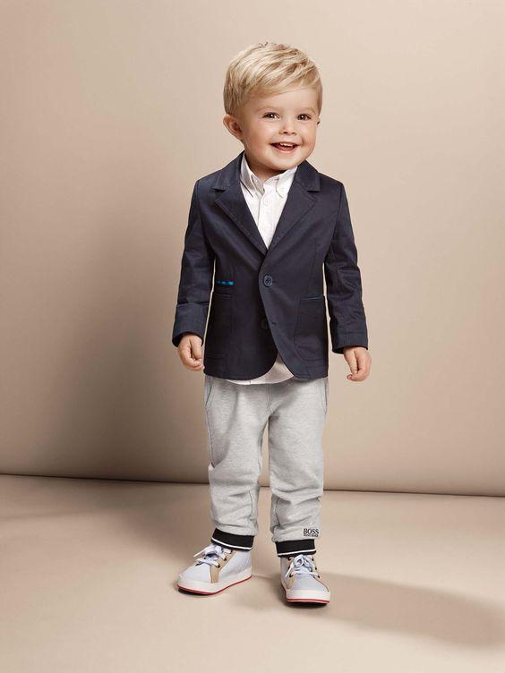 Roupa social infantil 60 modelos fotos ideias - Festliche blazer ...
