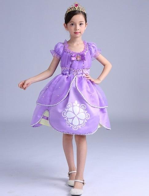 2e10527208 Fantasia de Princesa Sofia Infantil  60 Fotos   Ideias