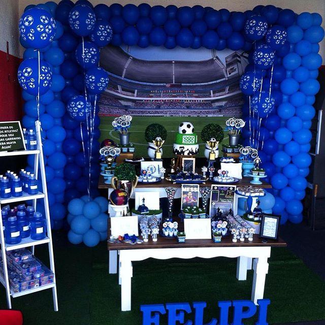 Festa Futebol 60 Dicas De Decoração E Fotos Lindas