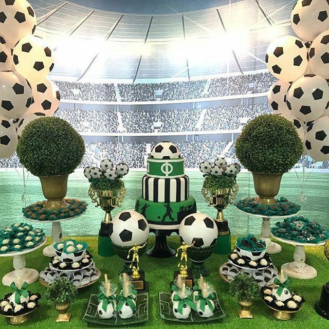 Festa futebol 60 dicas de decora o e fotos lindas - Decoracion vitoria ...