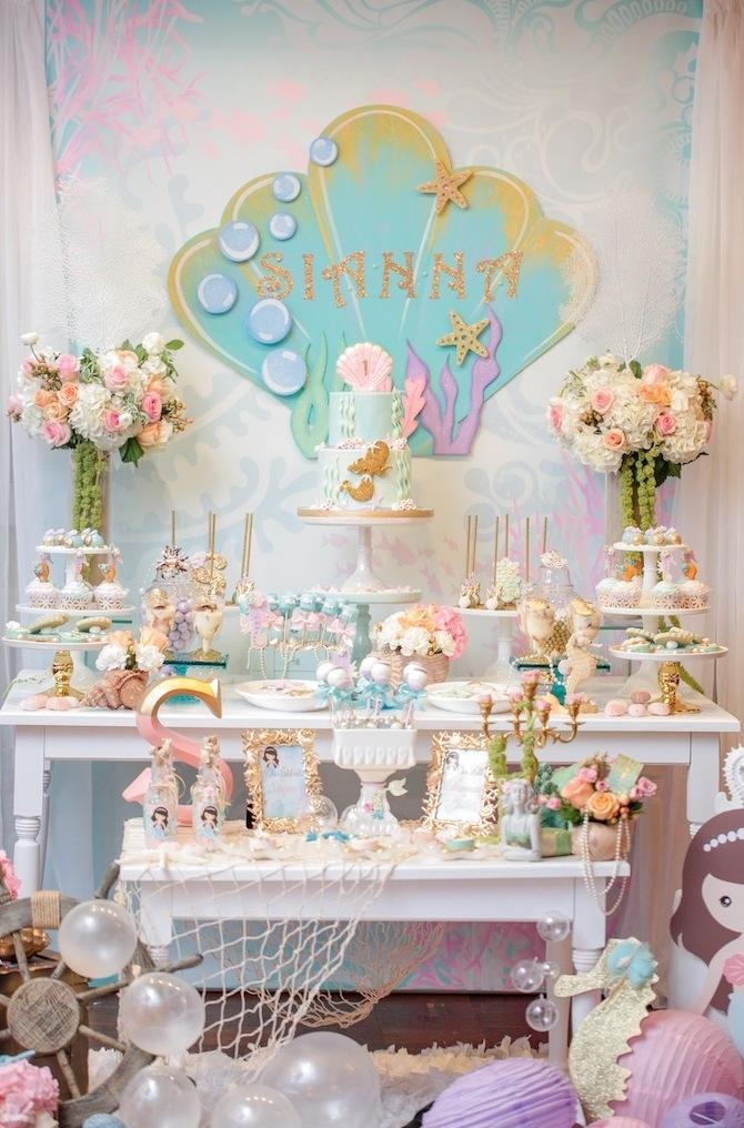Festa da Pequena Sereia Ariel: 60+ Fotos Incríveis!