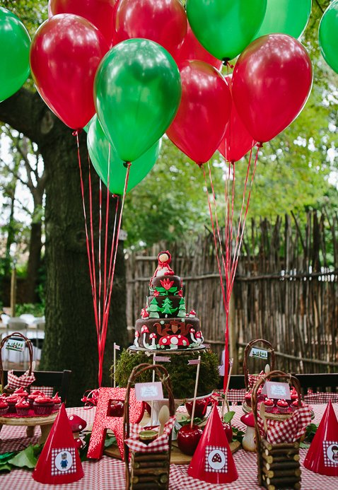 Festa Chapeuzinho Vermelho  60+ Ideias e Fotos Incríveis! 67faa394f69