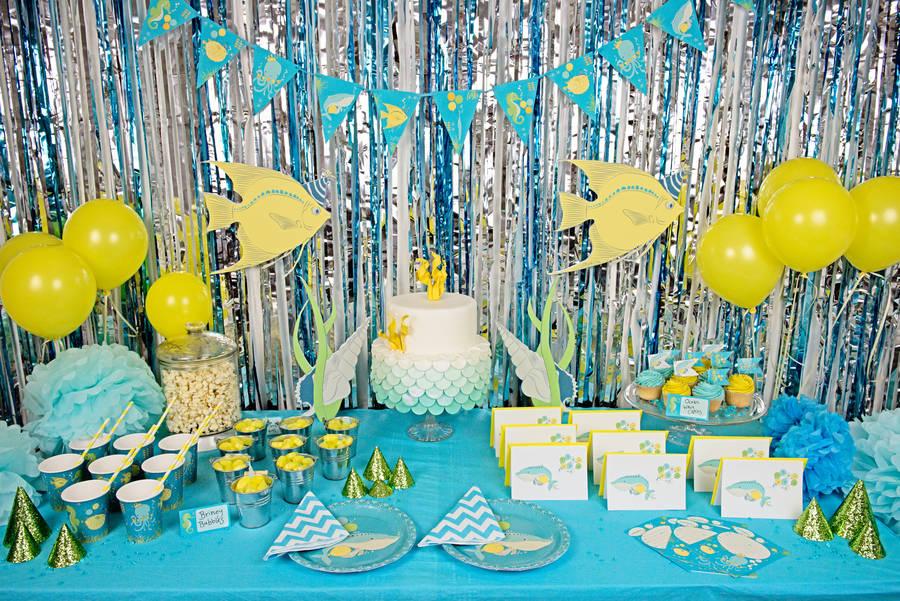 Festa Fundo do Mar: 60 dicas de decoração para acertar na escolha