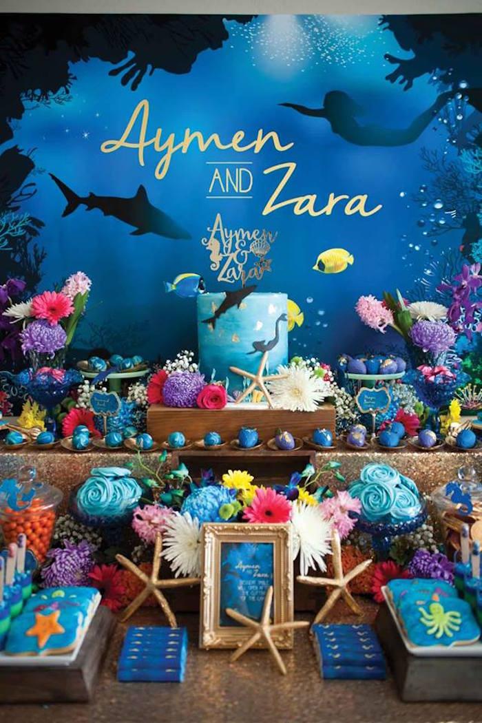 Sea Life Cake Decorations