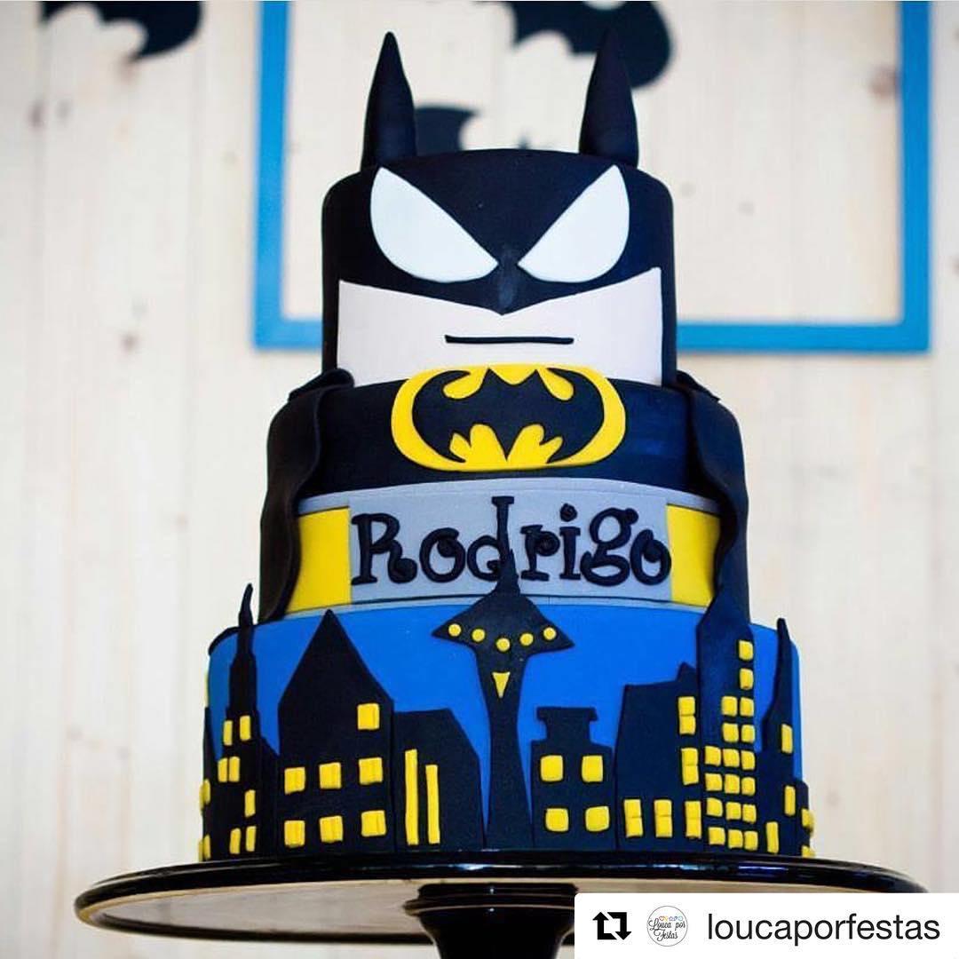 Bolo Do Batman 50 Ideias Fotos E Passo A Passo