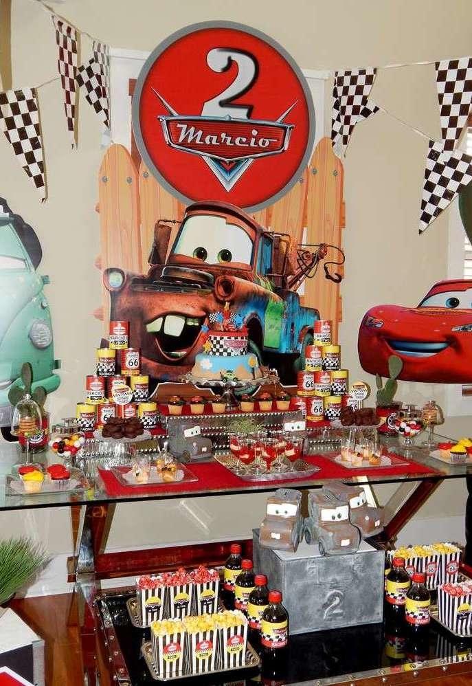 Festa Carros Ideias Fotos Dicas Simples Da Disney