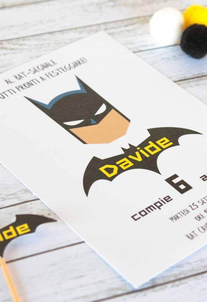 Aniversário de crianças sem brincadeira não vale a pena. Use a criatividade para fazer jogos e brincadeiras usando o tema Batman.