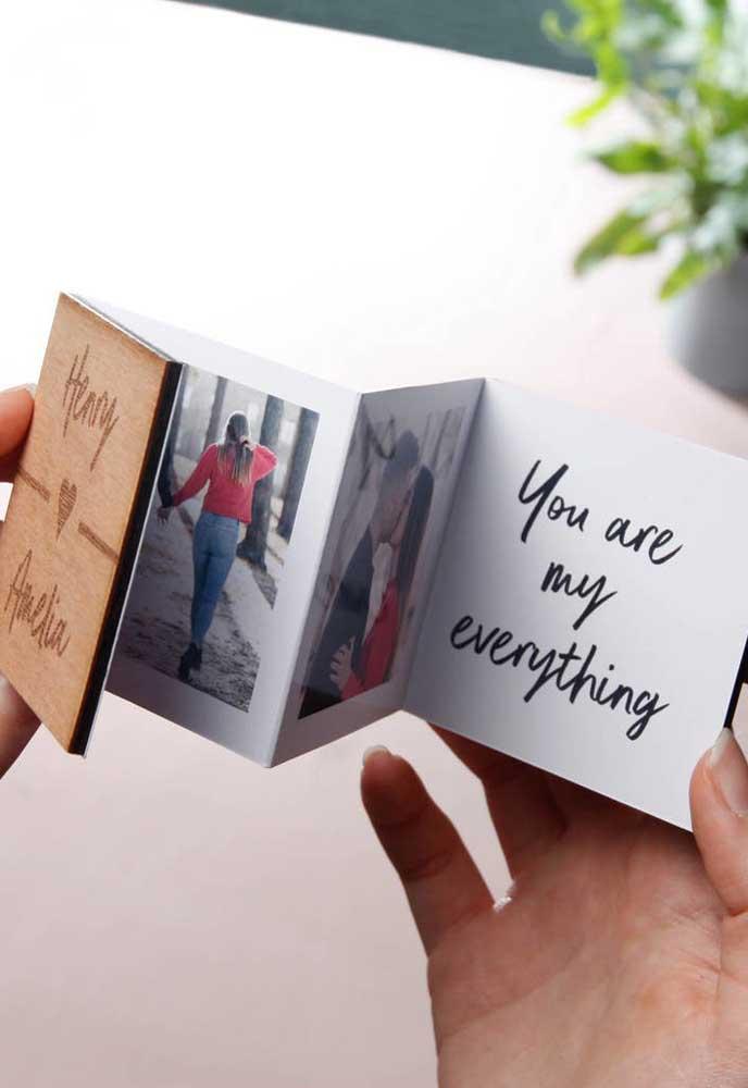 Use a criatividade e prepare um presente marcante para o dia dos namorados.