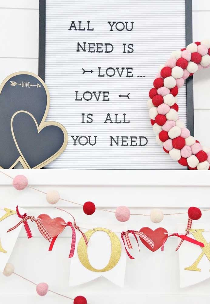 Declare todo o seu amor no dia dos namorados.