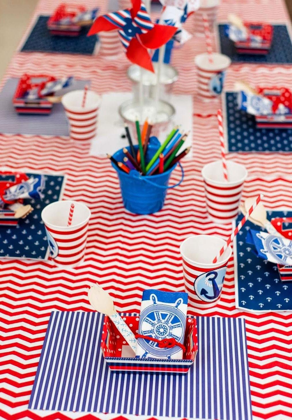 Festa marinheiro 65 ideias de decorao do tema nutica bolo de marinheiro altavistaventures Image collections