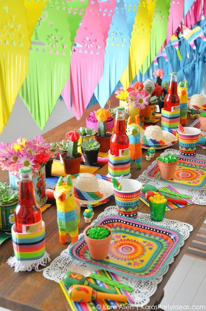 Festa Mexicana  75 Ideias de Decoração Incríveis — Confira! aaeeacd783d