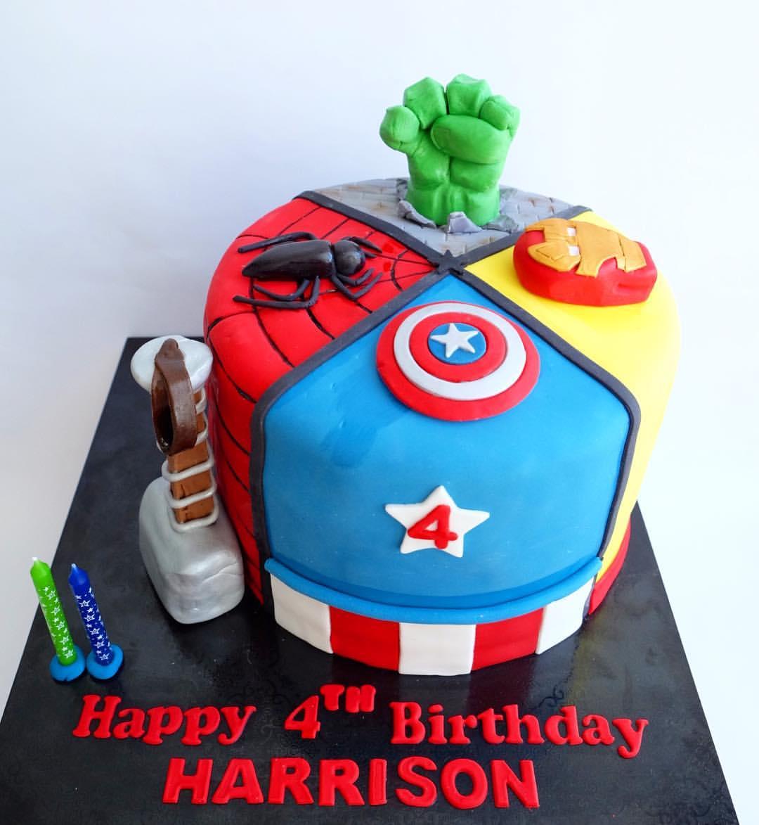 Bolo Dos Vingadores 23 Avengers