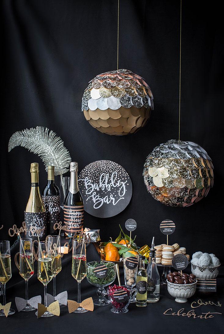 Decoração de Festa Réveillon e Ano Novo  65 Ideias com Fotos! 17aeee4d819