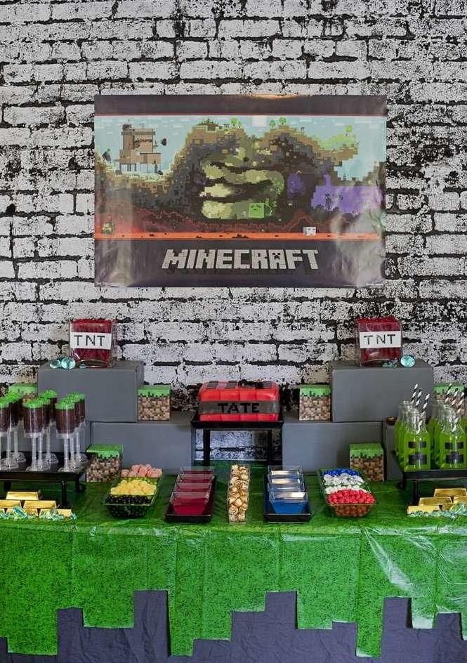 Festa Minecraft 60 Ideias De Decoracao Incriveis