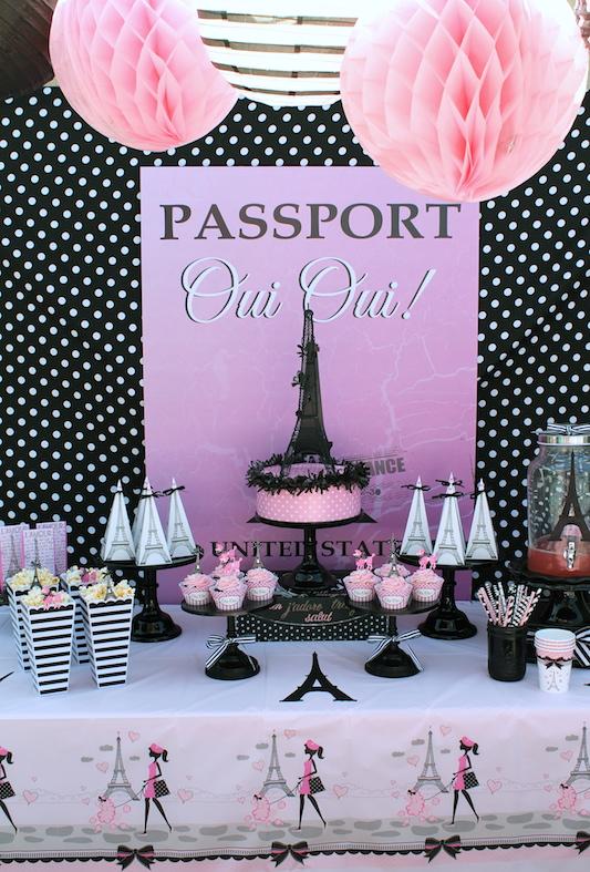 Fabuloso Festa Paris: 55 Ideias de Decoração com Fotos para o Tema MI93