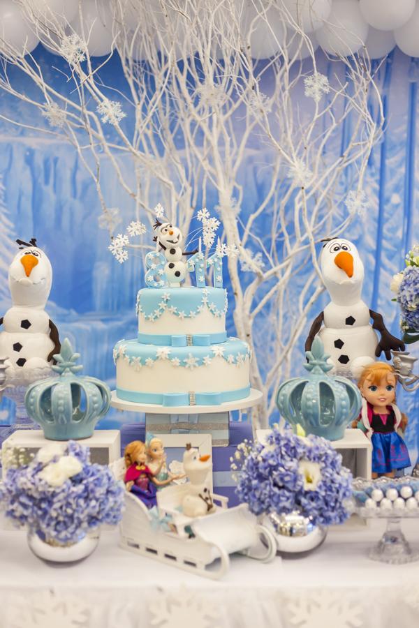 Festa da Frozen azul