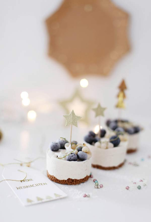 Comidinhas com decoração especial de Natal