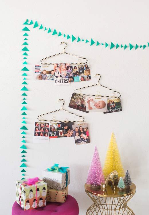 Fotos e cordões comemorativos