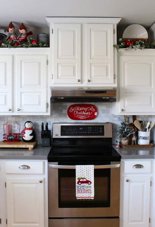 Mensagens e personagens na cozinha