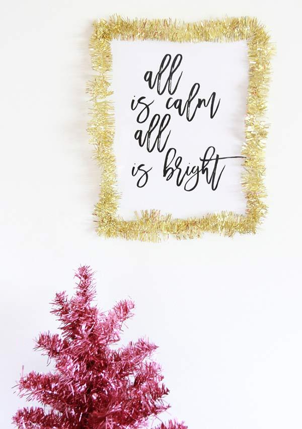 Moldura festiva simples
