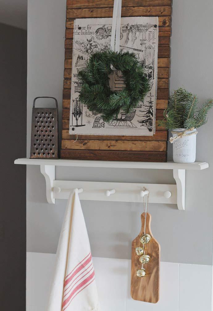 Guirlanda de Natal simples