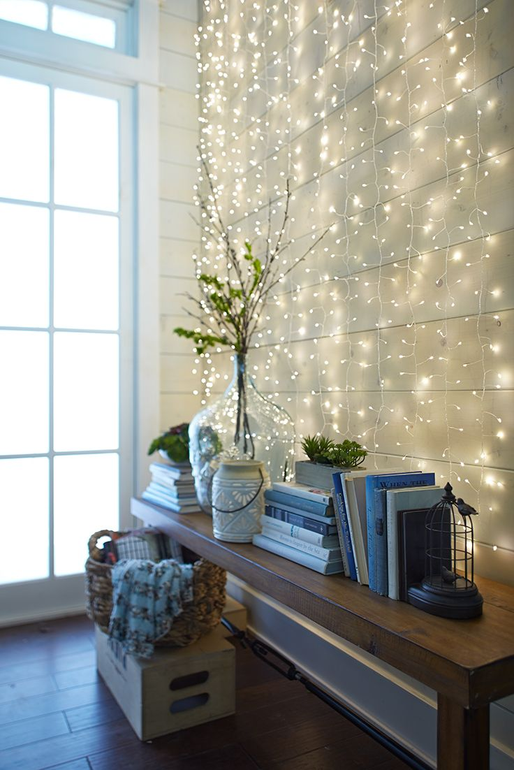 Sala super iluminada para o fim do ano