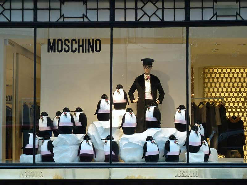 Pinguins também são marcantes na decoração de Natal