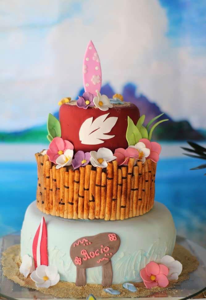 Surf, flores e bambu
