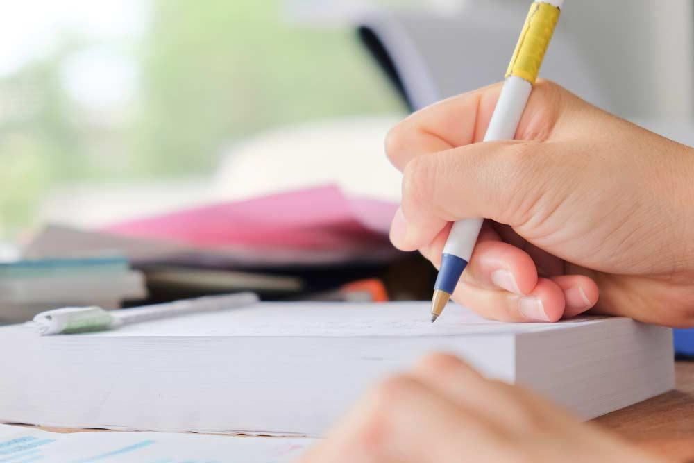 Coloque tudo na ponta do lápis