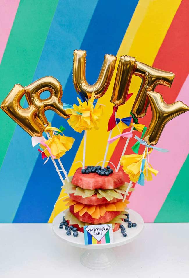 Aposte nas mensagens com balões metalizados