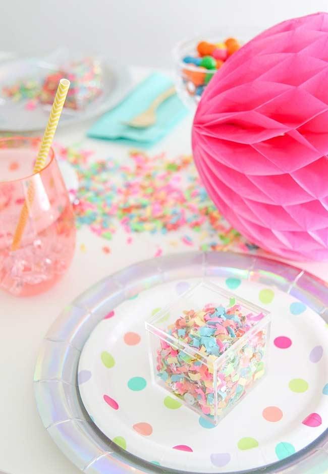 Candy colors sobre um fundo branco