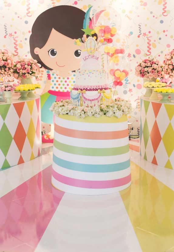 Festa infantil dedicada ao carnaval