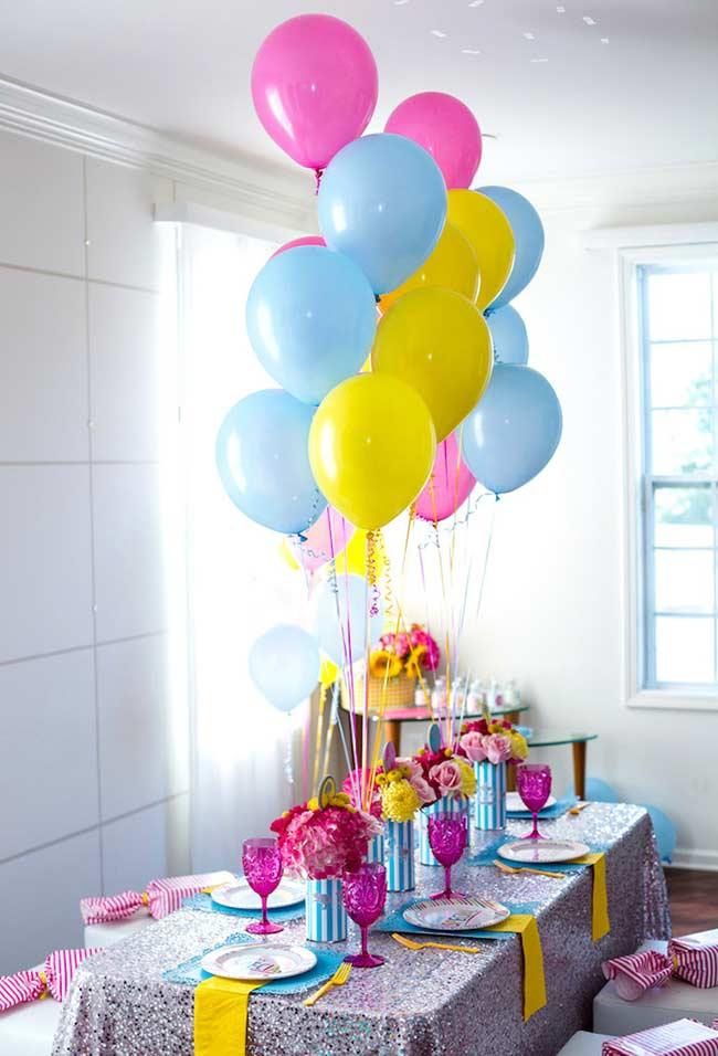 Candy colors num colorido harmonioso