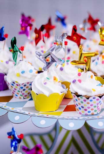 Forminhas temáticas para cupcakes