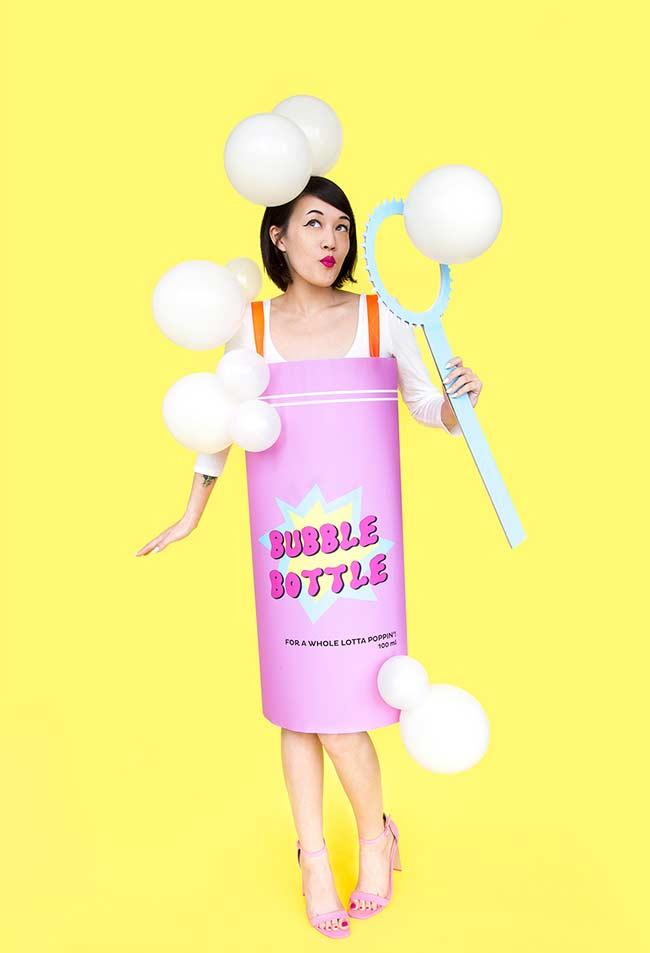 Tubete de bolhas de sabão