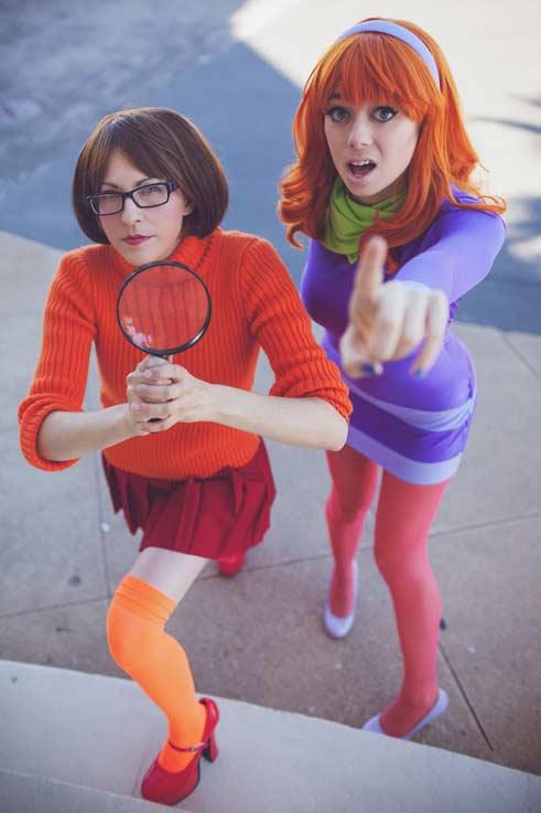 fantasias da Velma e Daphne