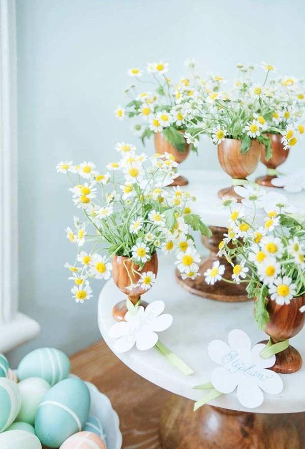 Muitas flores para comemorar a época de fertilidade
