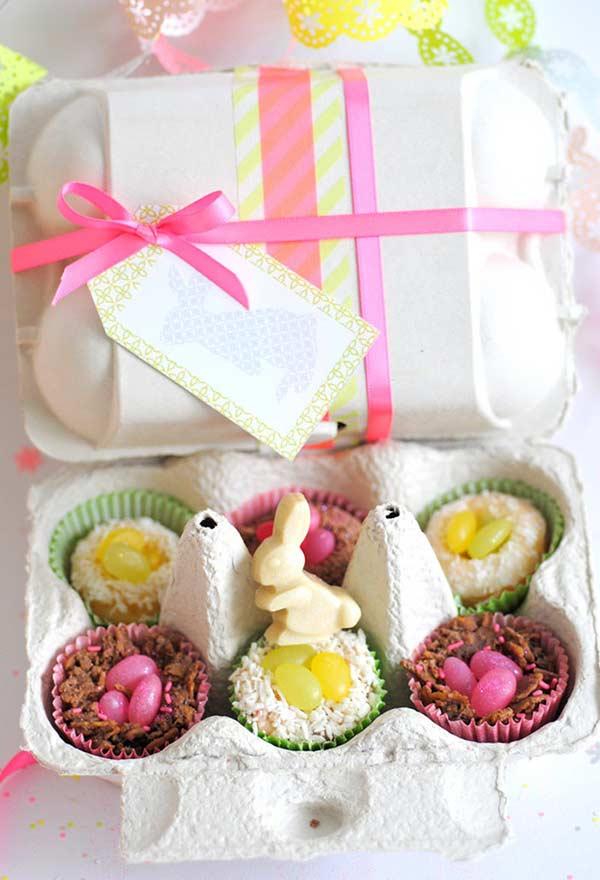 Ideia para brincar com caixinhas de ovos
