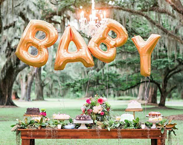Como organizar chá de bebê: local da comemoração