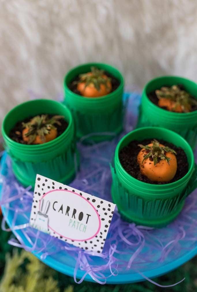 Colheita das cenourinhas